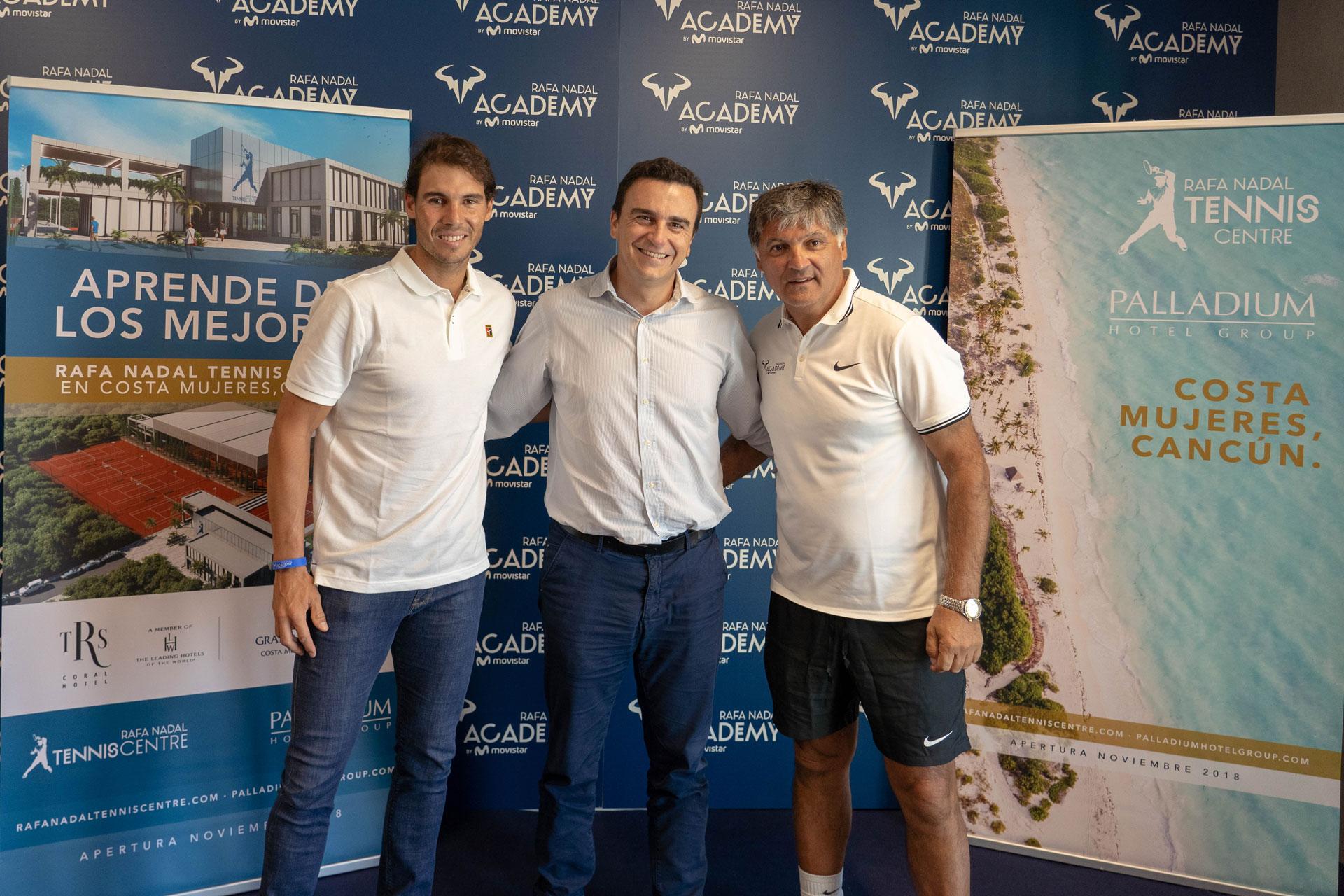 La Rafa Nadal Academy By Movistar Celebra Su Ii Aniversario Con La Apertura Del Rafa Nadal Tennis Centre En Mexico