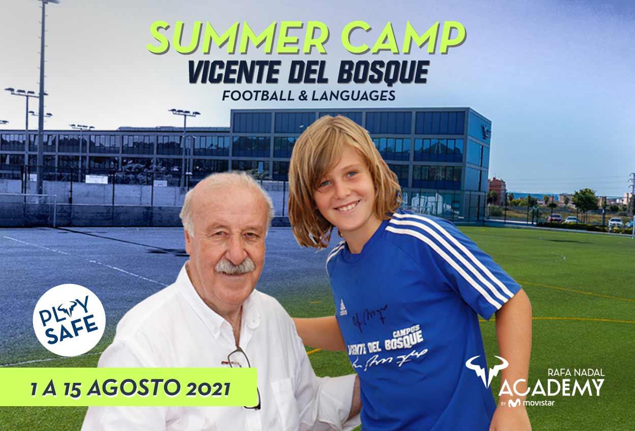 La Rafa Nadal Academy by Movistar será sede del Campus de Verano de Vicente del Bosque