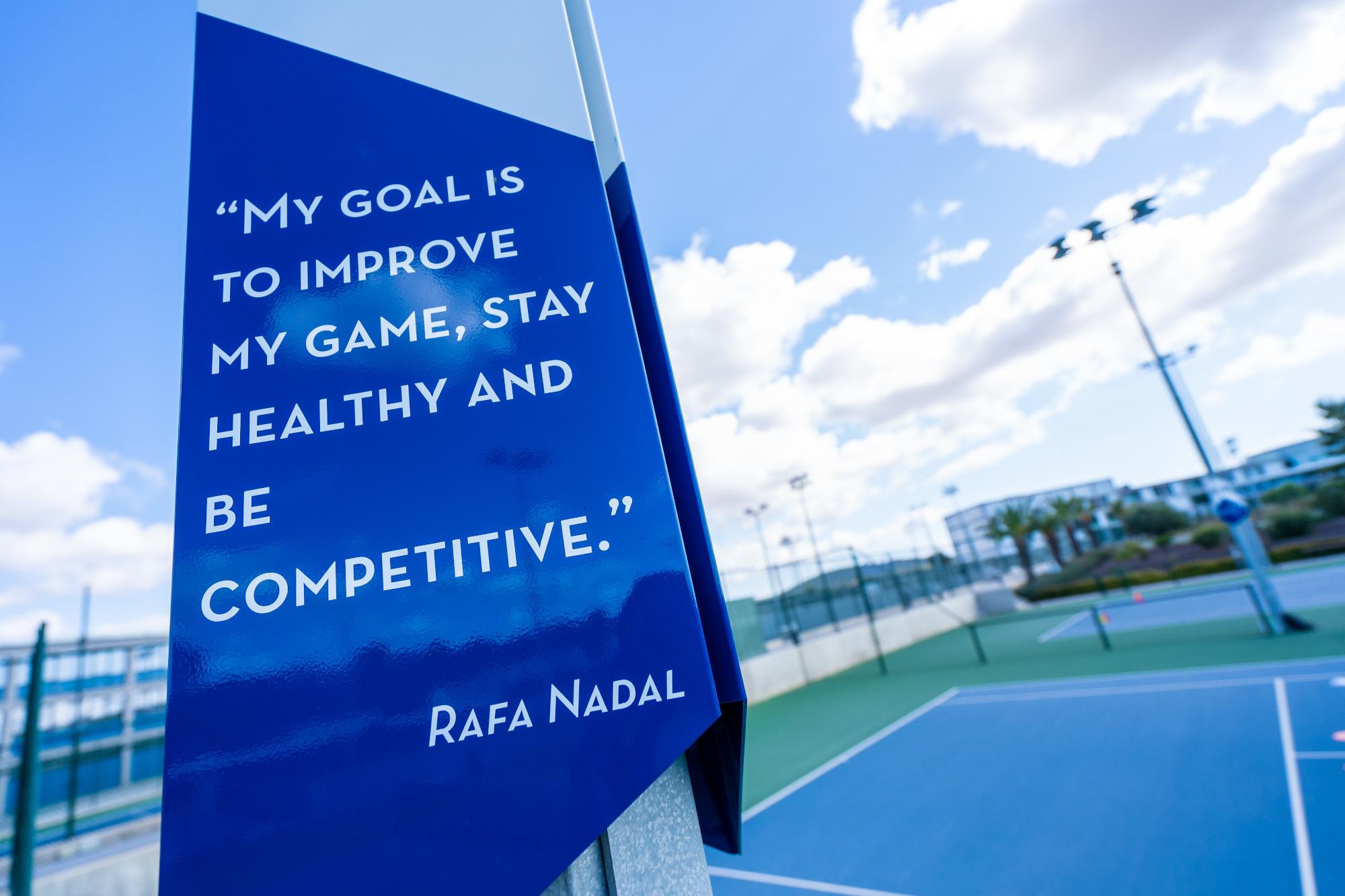 La Rafa Nadal Academy by Movistar, un ejemplo de seguridad, confianza y bienestar