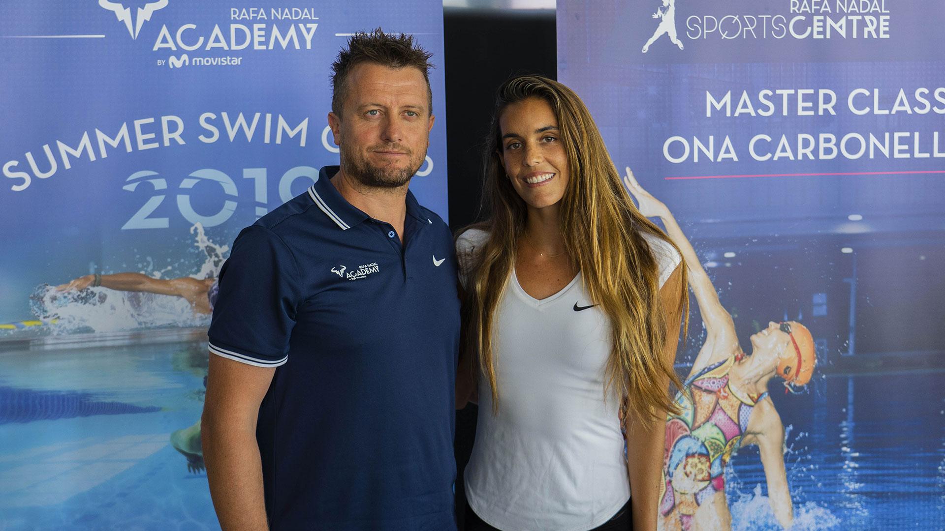 Ona Carbonell, madrina de lujo del nuevo Swim Camp