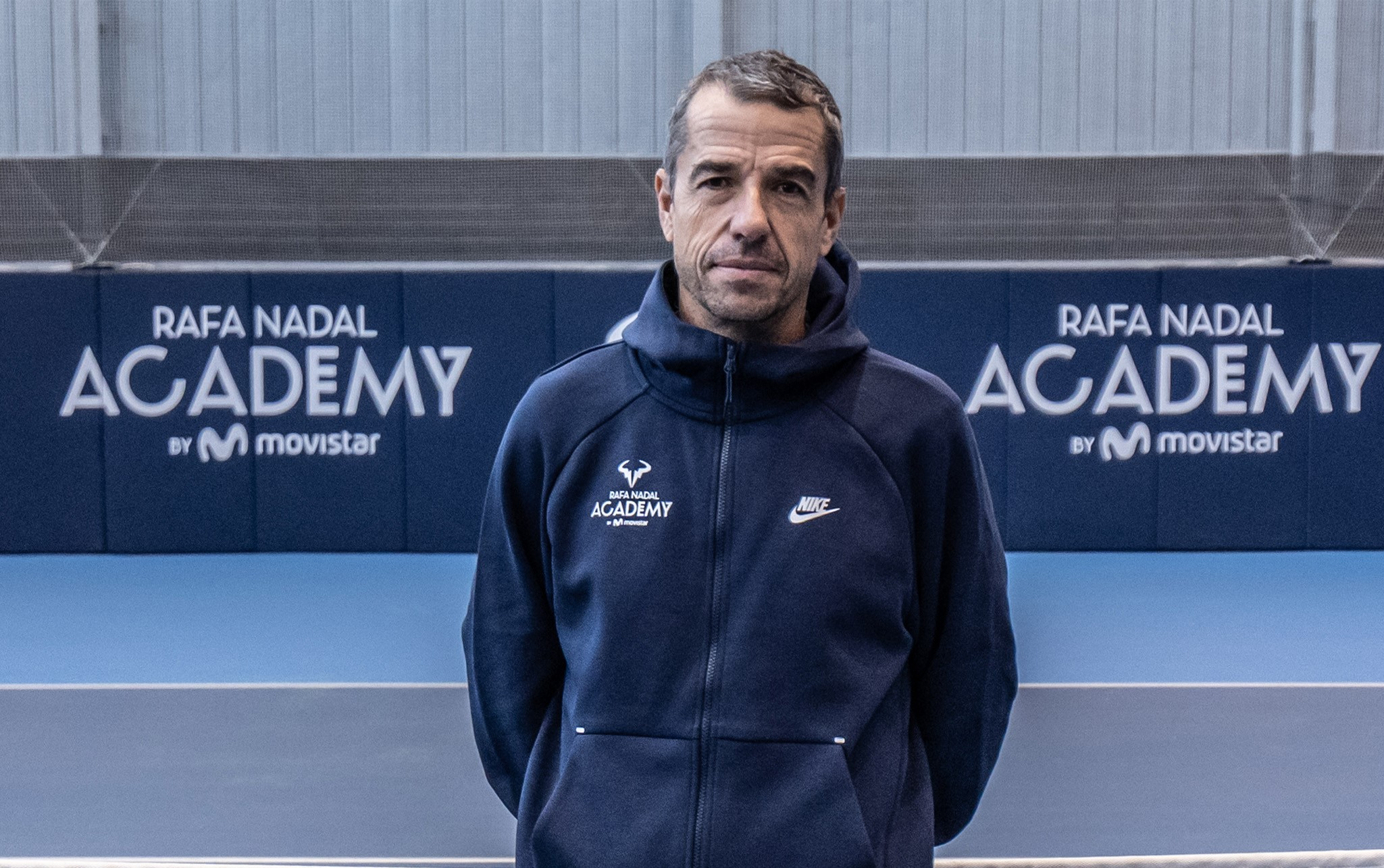 Pepo Clavet joins the Rafa Nadal Academy by Movistar