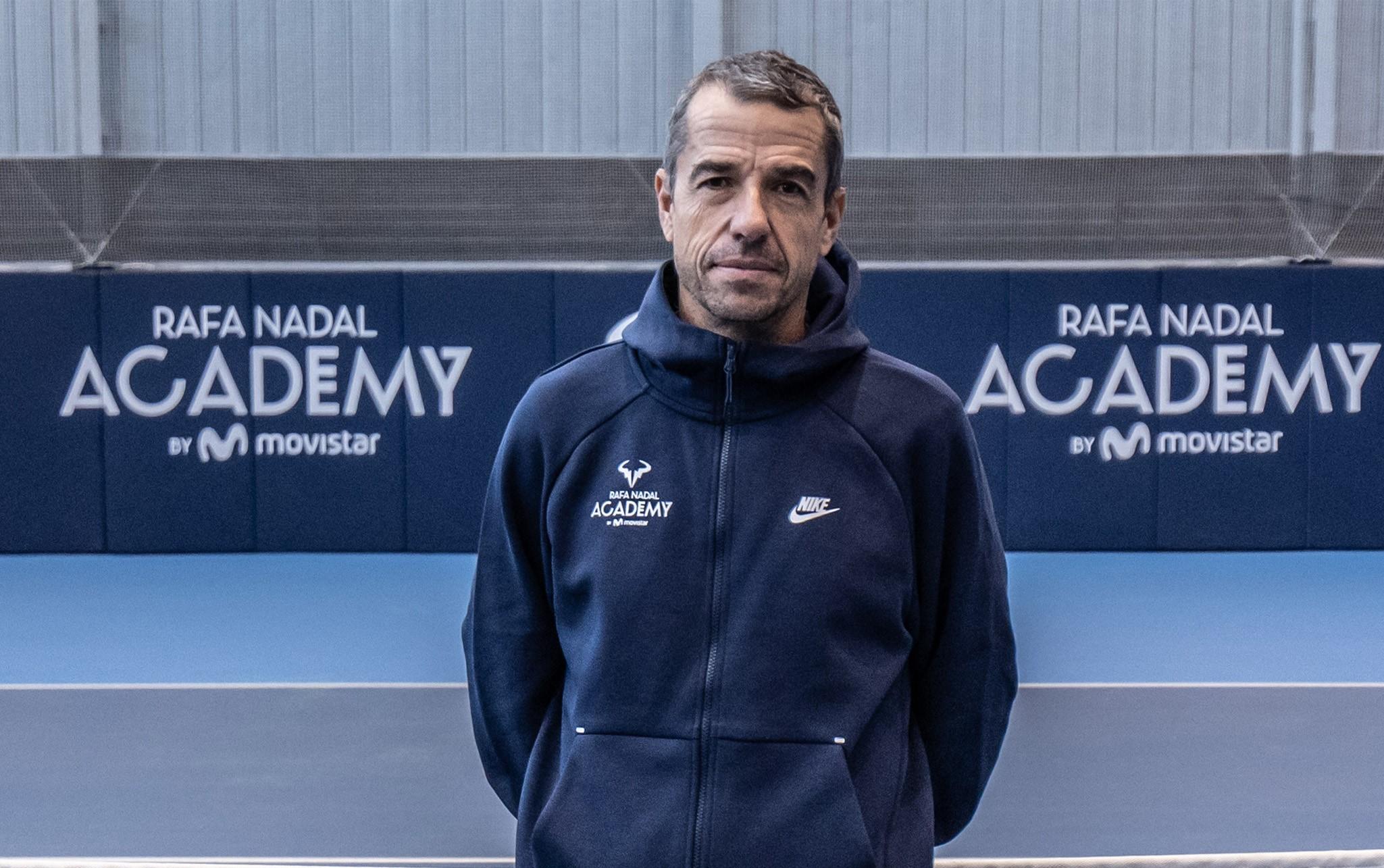 Pepo Clavet se incorpora a la Rafa Nadal Academy by Movistar