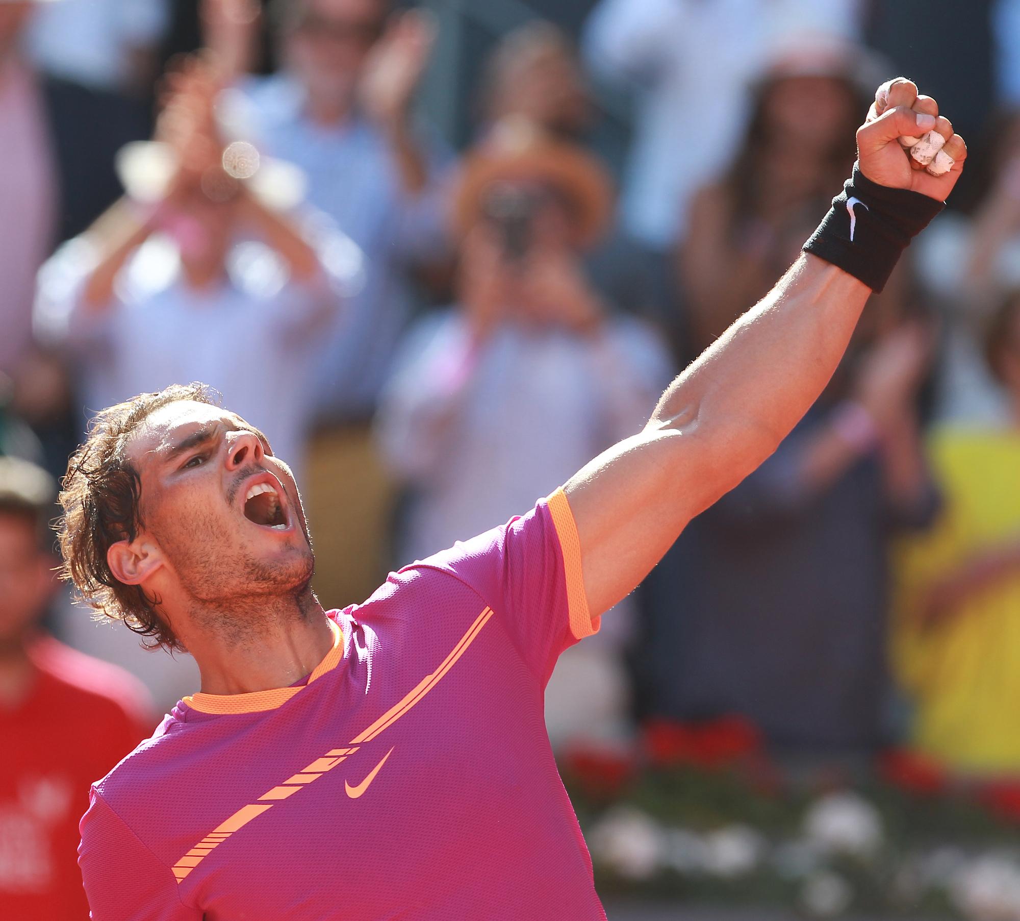 Rafa Nadal: 15 años de récords en tierra batida