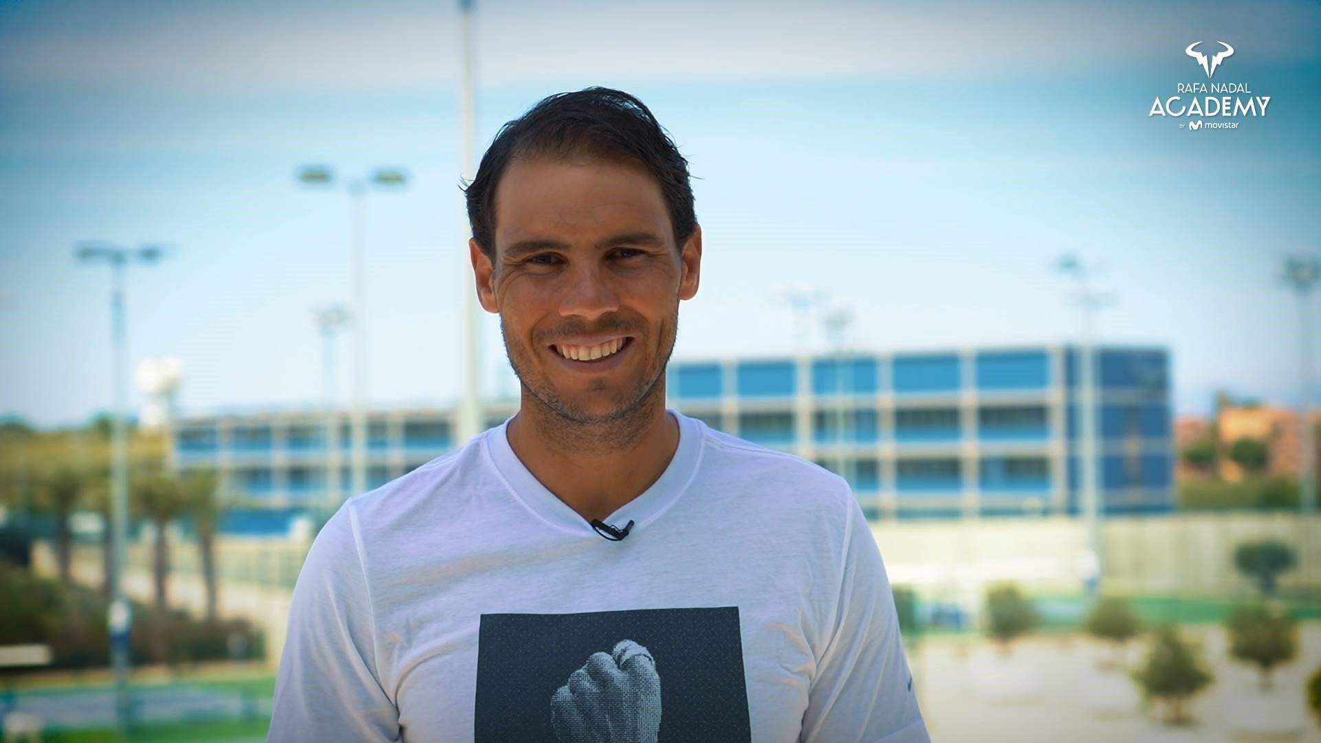 Rafa Nadal: ''Ven a Mallorca. Juega seguro''