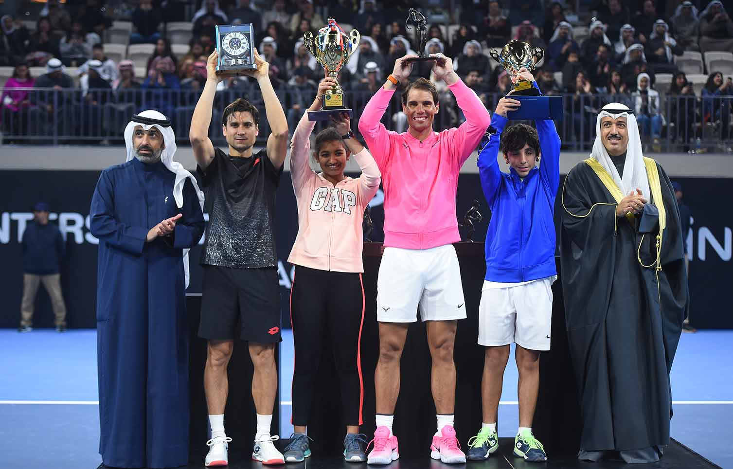 Rafa Nadal And David Ferrer Officially Open The Rafa Nadal Academy Kuwait