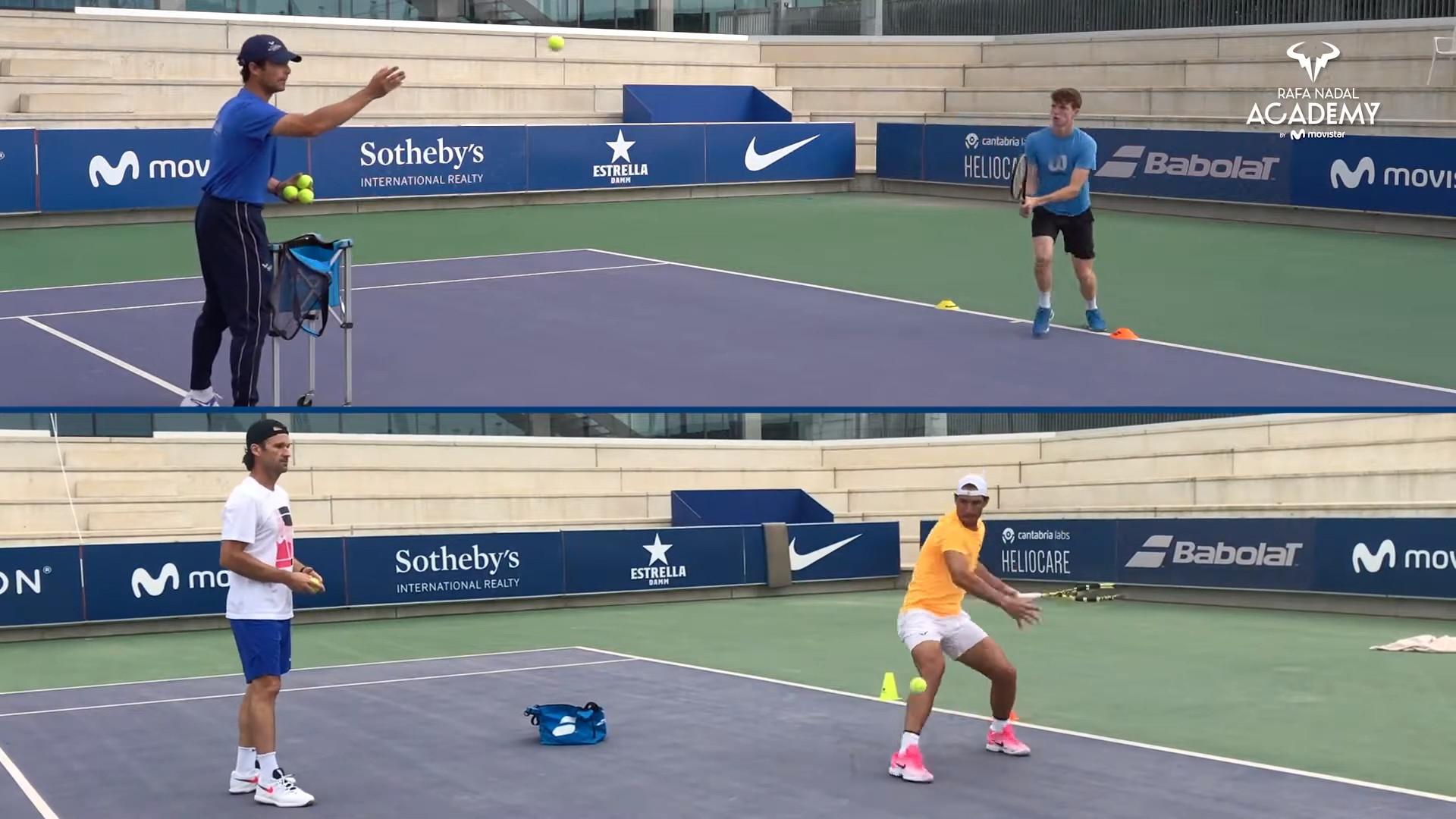 Rafa Nadal Academy The Tennis Methodology Made In Manacor