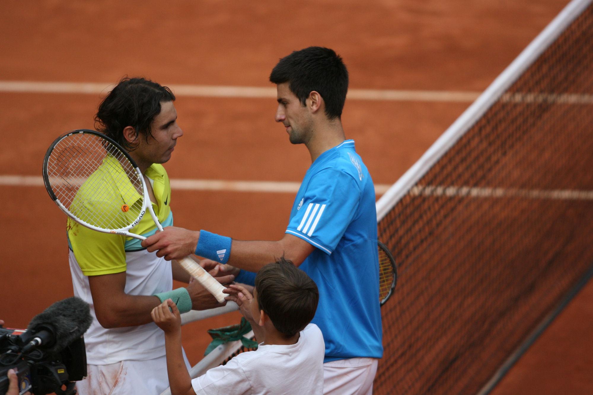 The Best Nadal Vs Djokovic On Clay