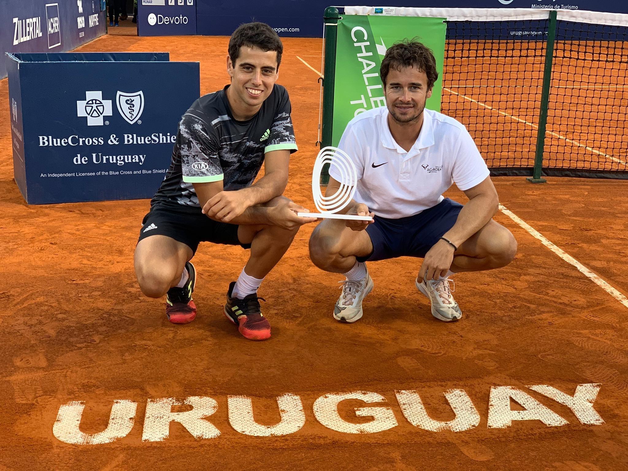Uruguay recibe a la Rafa Nadal Academy